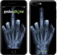 """Чехол на iPhone 7 Plus Рука через рентген """"1007c-337-4848"""""""