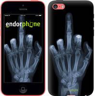 """Чехол на iPhone 5c Рука через рентген """"1007c-23-4848"""""""