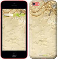 """Чехол на iPhone 5c Кружевной орнамент """"2160c-23-4848"""""""