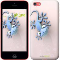 """Чехол на iPhone 5c Гекончик """"1094c-23-4848"""""""