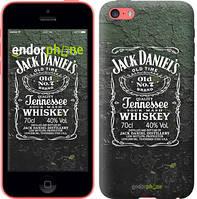 """Чехол на iPhone 5c Whiskey Jack Daniels """"822c-23-4848"""""""