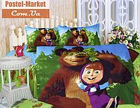 Детское постельное белье Маша и Медведь KI-062