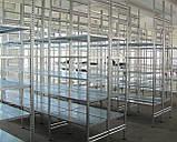 Полочный стеллаж СТМ 2000х1000х400х5п., фото 9