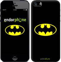 """Чехол на iPhone 5s Бетмен логотип """"3201c-21-4848"""""""
