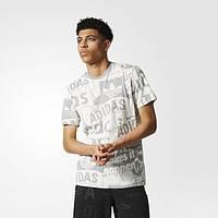 Мужская футболка с принтом adidas Originals Loud Print BS4839 - 2017/2