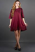 Сукня Айві (бордовий), фото 1