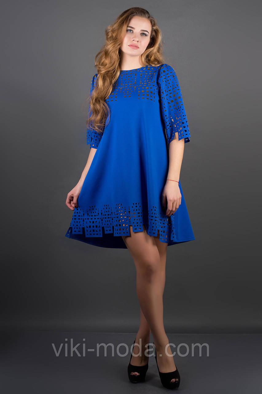 Платье Айви (электрик)