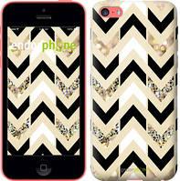"""Чехол на iPhone 5c Шеврон 10 """"3355c-23"""""""