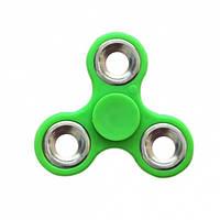 Спиннер металлический (антистрессовая игрушка) (Зеленый / Серебряный) 61044