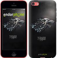 """Чехол на iPhone 5c Game of thrones. Stark House """"1120c-23-4848"""""""