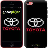 """Чехол на iPhone 5c Toyota. Logo """"3138c-23-4848"""""""