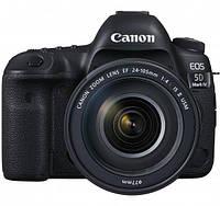 Фотоаппарат CANON EOS 5D Mark IV 24-105mm F/4 L IS II USM (1483C030)