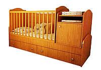 """Детская кровать-трансформер """"Лайт"""" Бамбино"""