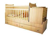 """Детская кровать-трансформер """"Скай"""" Бамбино"""