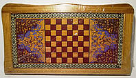 Набор 2-в-1: нарды + шахматы (БАМБУК)