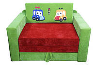 """Детский диван """"Кубик Машинки"""" Ribeka"""