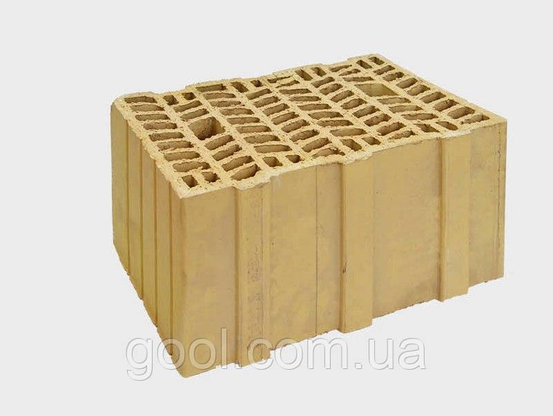 Керамические блоки Керамкомфорт СБК 38 П+Г (10НФ) 380×240×215 мм.