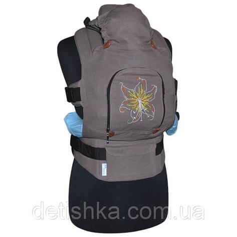 Эргономический рюкзак Нежная лилия, фото 2