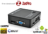 8-канальный NVR видеорегистратор ZetPro ZTP-MVR6208, 1080p