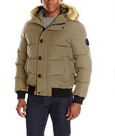Куртка Levi's Men's Shorty Snorkel Quilted Hoody Bomber - Khaki