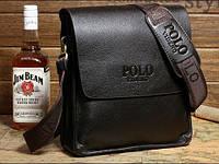 Мужска сумка POLO Videng, темно-коричневая, фото 1