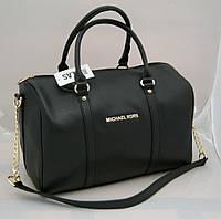 Женская сумка саквояж Michael Kors, черный Майкл Корс MK