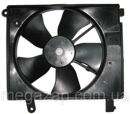 Вентилятор радиатора охлаждения дополнительный +AC (в сборе) Daewoo Nubira 97-