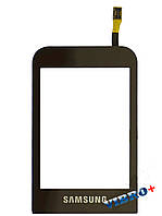 Тачскрин (сенсор) Samsung C3300, brown (коричневый)