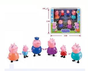 Экслюзивный набор семья Свинки Пеппа Peppa Pig