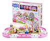 Свинка Пеппа набор дорога и парк с аттракционами Peppa Pig. 3D пазлы, фото 2