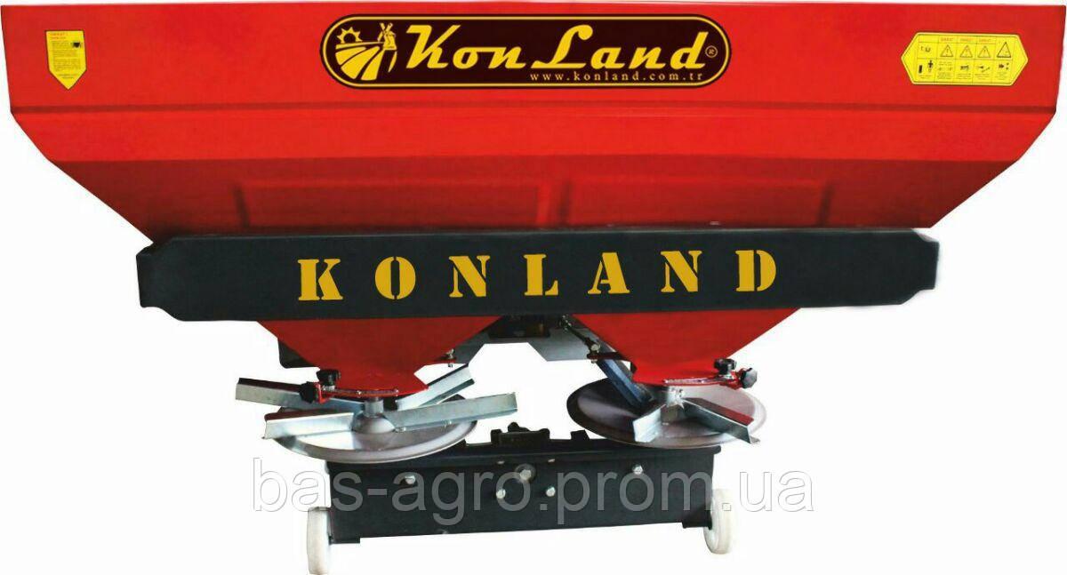 Разбрасыватель минеральных удобрений KonLand KG-1000-2D
