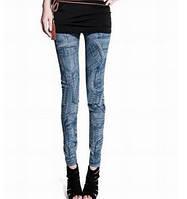Лосины имитация джинсов