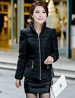 Куртка женская осень весна черная