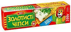 """чипсы """"Золотистые"""" """"Жайвир"""" 100 г. укроп и сметана"""