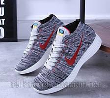 Кроссовки женские реплика Nike flyknit chukka