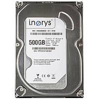 ☇Жесткий диск i.norys 500Gb 7200 rpm 16MB (INO-IHDD0500S2-D1-7216) HDD для настольного компьютера ПК