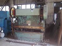 Пресс листогибочный кривошипный И1330