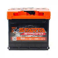 Аккумулятор STARTA Strong -52а +левый 480 А