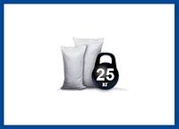 Мешки пп белые 25 кг 75х50