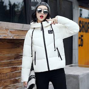 Курточка короткая белая, фото 2