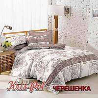 Двуспальный набор постельного белья 180*220 из Сатина №145 KRISPOL™