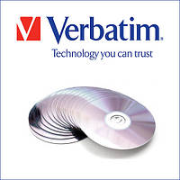 Диск VERBATIM DVD+R 4,7Gb 16x Cake 50 pcs Printable   (ціна за уп)