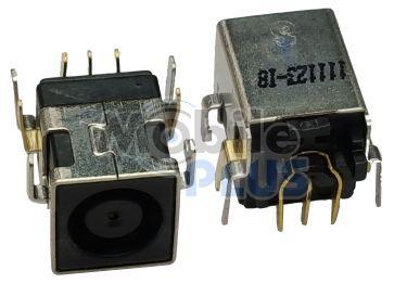 Разъем питания для ноутбука (7,4mm x 5,0mm) DC-220 HP, Dell