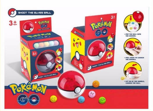 "Покебол Pokeball Rocket Shot ""Pokemon Go"""