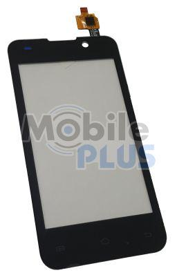 Сенсорный экран (тачскрин) для телефона Goclever Quantum 4 Black