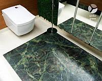 Мармурова підлога (Calacatta+Spider Green)