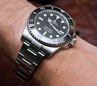 Rolex Submariner Quarts Silver-Black