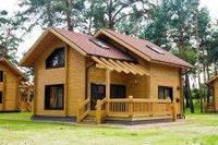 Строительство домов из клеенного профилированного бруса