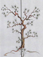 Витраж ручной работы Дерево жизни