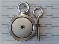 Двусторонний поисковый неодимовый магнит на 400 кг Тритон